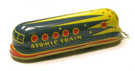 Atomic Toys: Atomic Train (1950s)