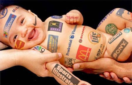 Baby advertisers