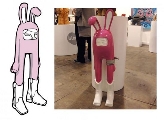 Pink Billys by Blamo Toys