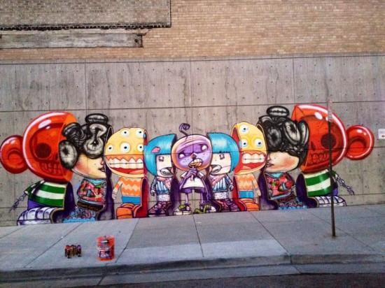 David Choe, Joe To and DVS-1 Muppet mutations