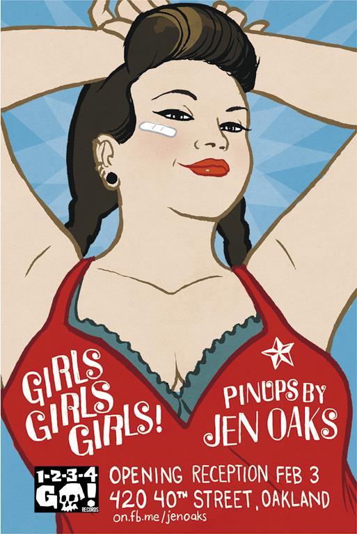 Jen Oaks Pinups Show