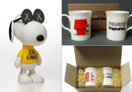 Snoopy designer toys from KAWS