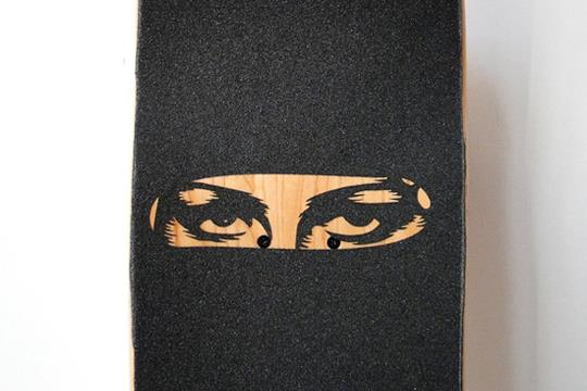 Burka Board by Juan James for Skateistan