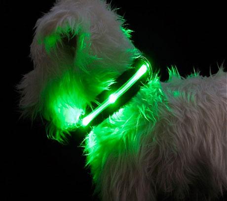 Mhu Ghu L.E.D. dog collars