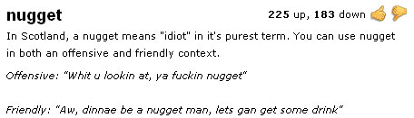 Definition of Nugget