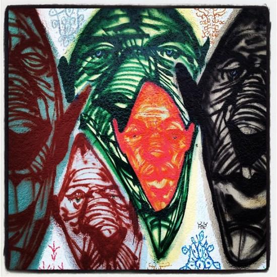 Rich Jacobs art murals in Oakland