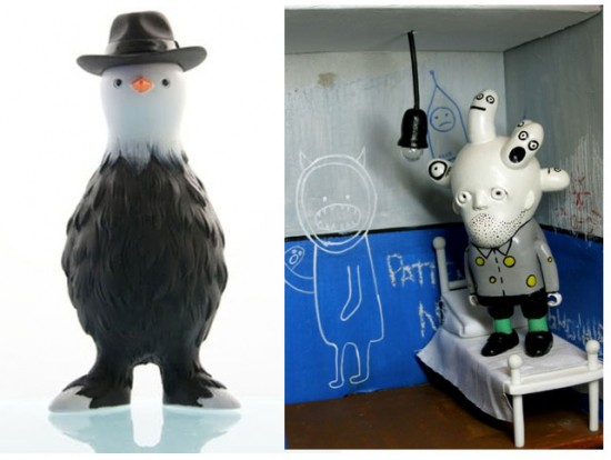 Moscow-based Sergey Safonov's Godot and Kiev-based Patient No.6's self-titled resin toys