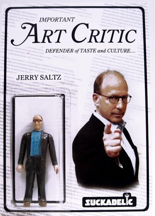 Jerry Saltz Art Critic Action Figure by The Sucklord