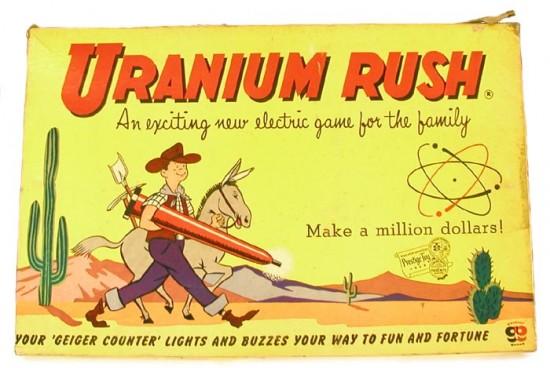 Atomic Toys: Uranium Rush Board Game (1955)