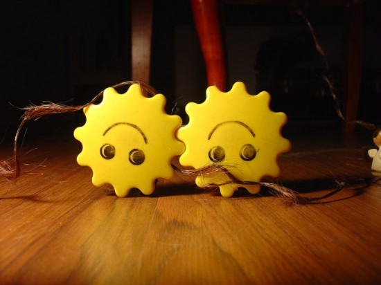 """From a stop motion short called """"With a Little Help"""" by Agustina Woodgate"""