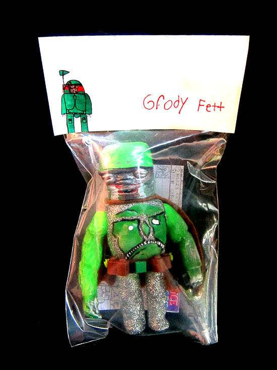 &quot;Grody Fett&quot; by Nakai (age 8) with Amy del Castillo and DSKI-one