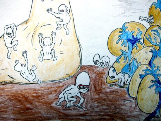 kids art by Leo Rauf (age 12)