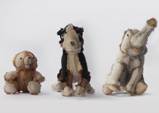 Outsiders inside out knit toys by Atelier Volvox