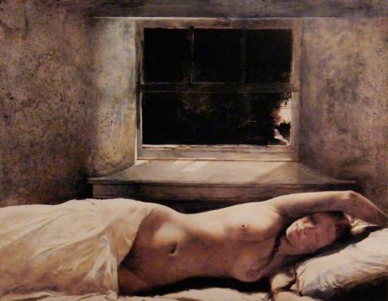 Overflow by Andrew Wyeth