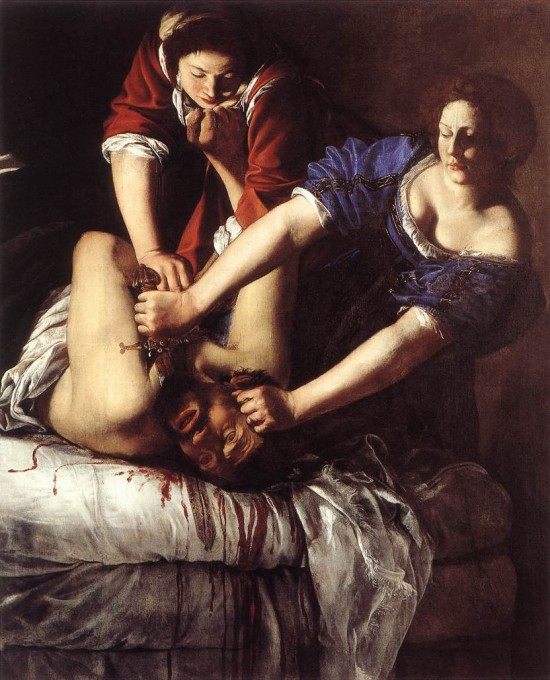 Artemisia Gentileschi's Judith Slaying Holofernes