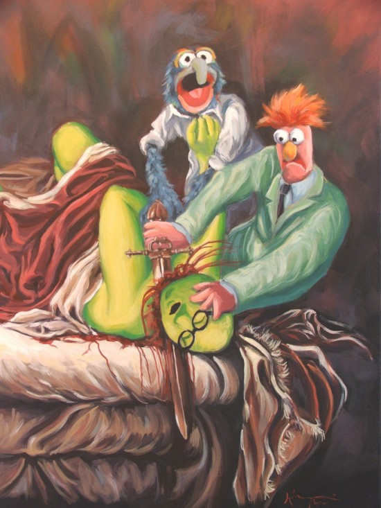 Beaker Slaying Honeydew by Hillary White
