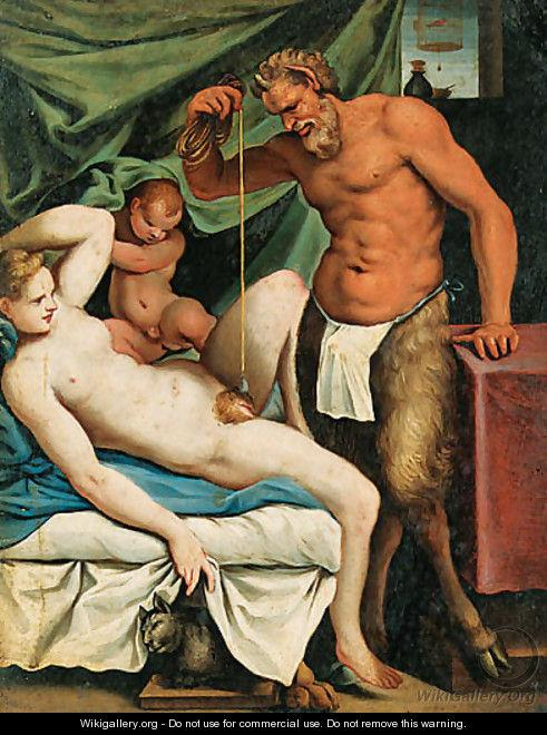 The Satyr Mason by Carracci