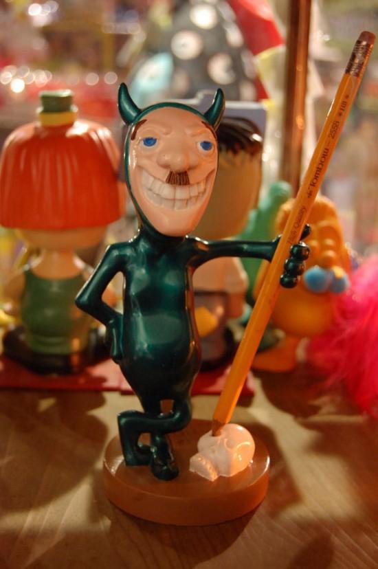 Hitler Toy Devil Pen Holder