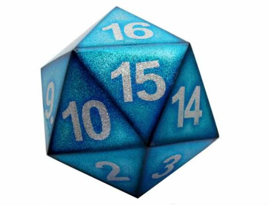 20-sided Dirty Dice by Dirty Donny