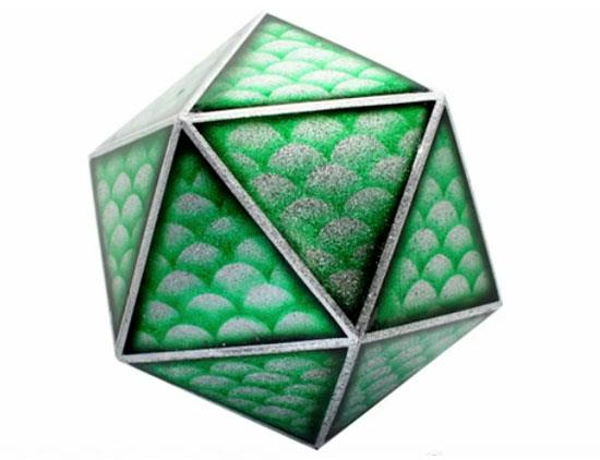 20-sided Dice by Dirty Donny