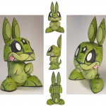 Space Mutant Bunny by Joe Ledbetter