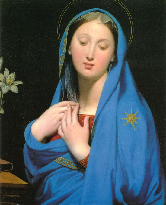 Jean Auguste Dominique Ingres' Virgin of the Adoption