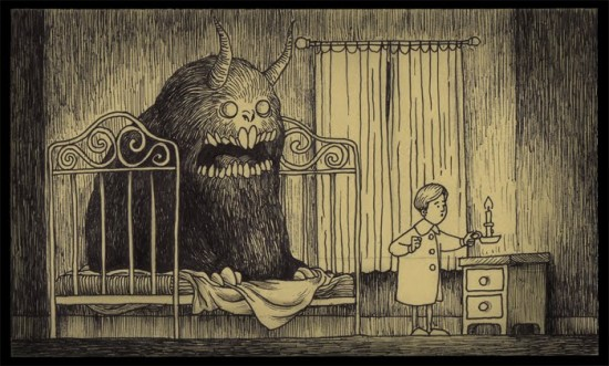 Monster Post Its by John Kenn