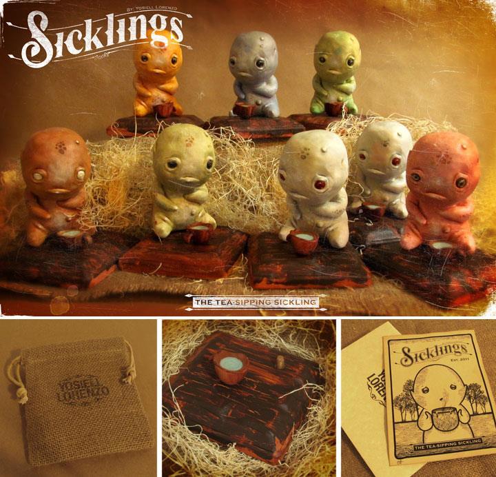 Tea-Sipping Sicklings by Yosiell Lorenzo