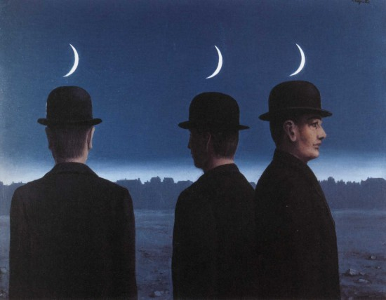 Rene Magritte's The Mysteries Of The Horizon