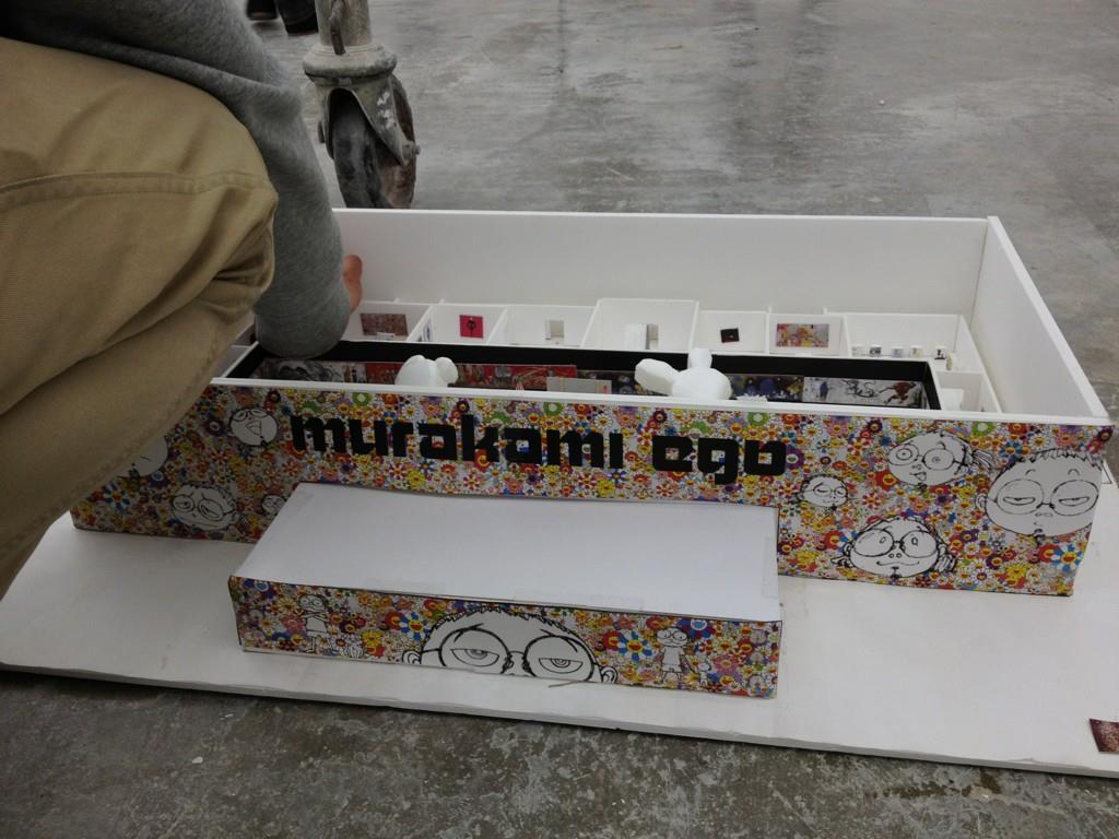 Takashi Murakami's EGO exhibition Qatar Museum