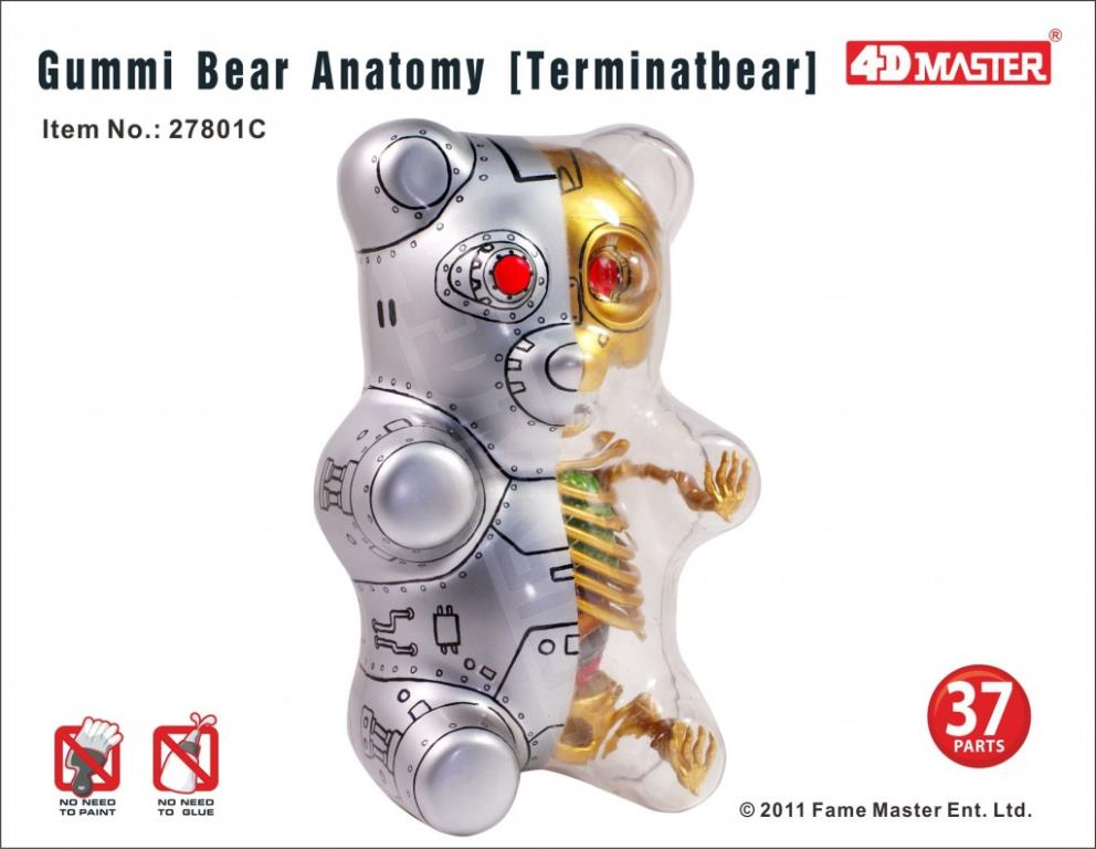Gummi Bear Anatomy 3D Puzzles Are Almost Here!