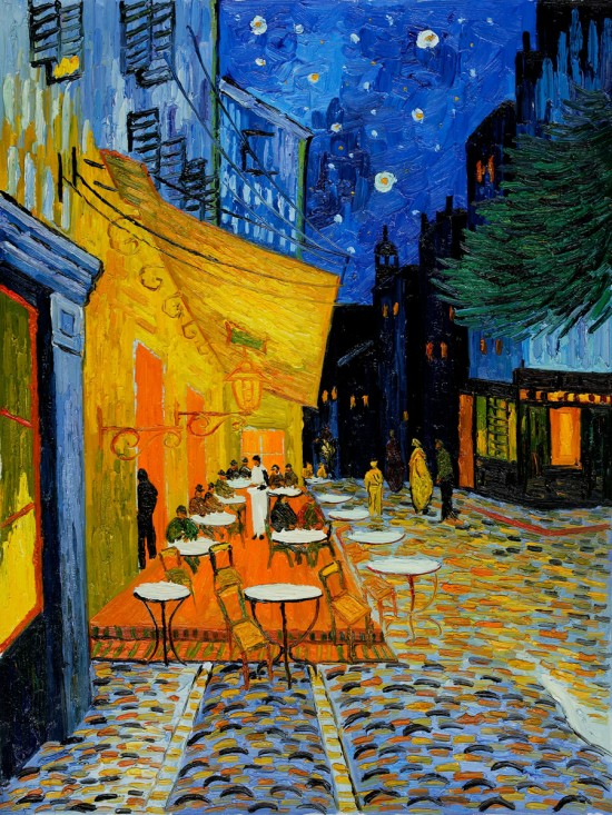 Vincent Van Gogh's Café Terrace at Night