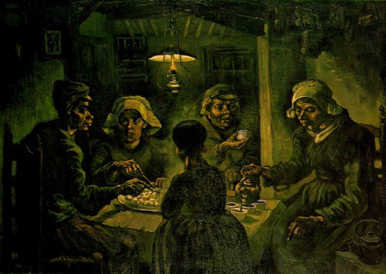 Vincent Van Gogh's The Potato Eaters