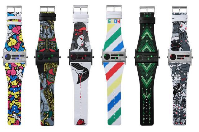 LTD EDN x Seahope Artist Watches