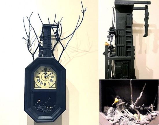 Graveyard Clock by Angela Casserly