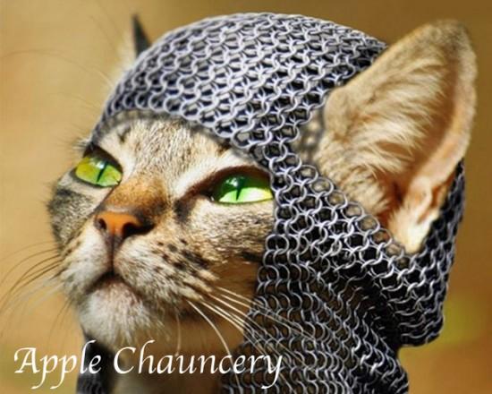 Apple Chauncery cat font