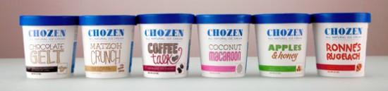 Chozen Ice Cream flavors