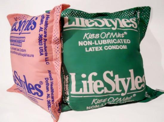 condom pillows