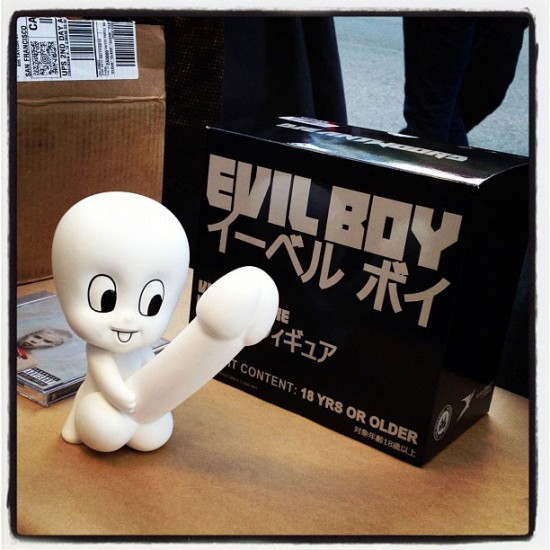 Evil Boy vinyl toy by Die Antwoord &amp; Good Smile Company