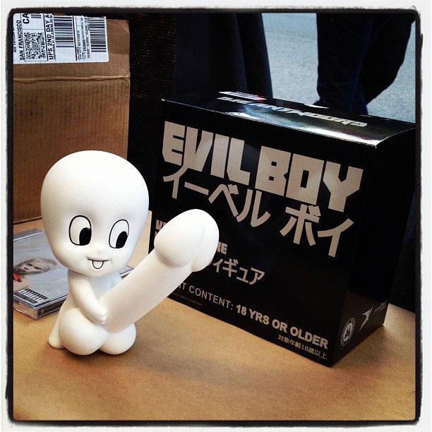 Evil Boy vinyl toy by Die Antwoord & Good Smile Company