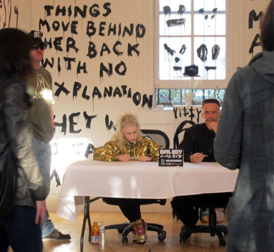 Die Antwoord Evil Boy toy signing at FIFTY24SF, San Francisco