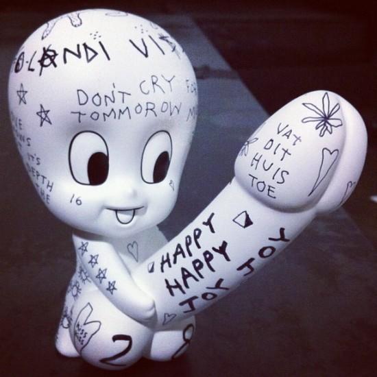 The Die Antwoord Evil Boy toy