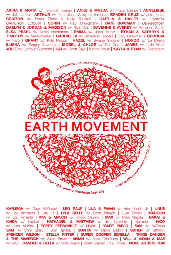 Earth Movement Postcard (back)