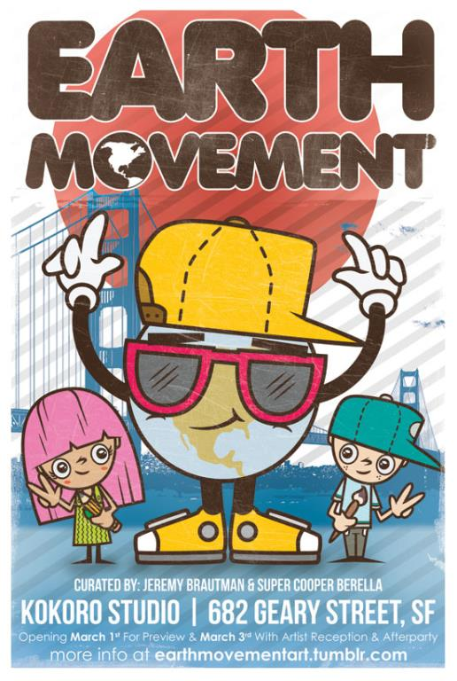 Earth Movement Postcard Front (low-res)