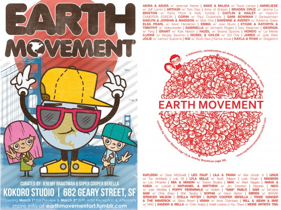 Earth Movement Postcard