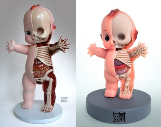 Dissected Kewpie Dolls by Jason Freeny