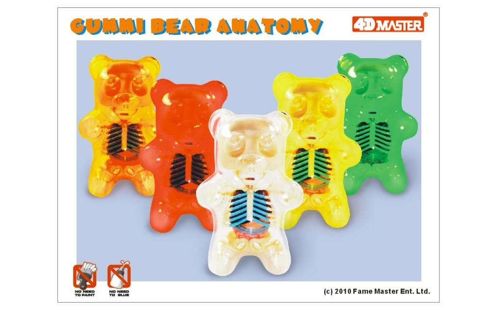 Jason Freeny's Gummi Anatomy Bear Puzzles
