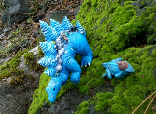 Custom Stegoforest Resin Collectible Toys