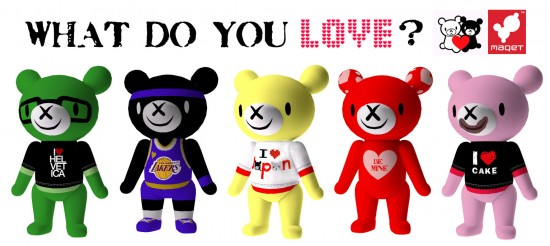 MAQET Valentine's Day DIY T-shirt Bears