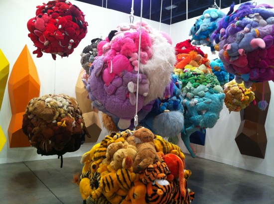 Artist Mike Kelley for Art Basel